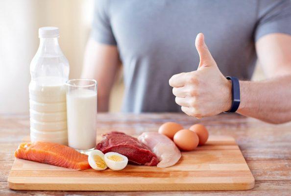رژیم غذایی پروتئین