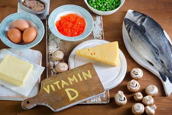 لاغری با انواع ویتامین دی
