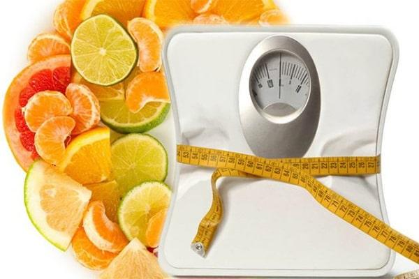 لاغری با ویتامین سی
