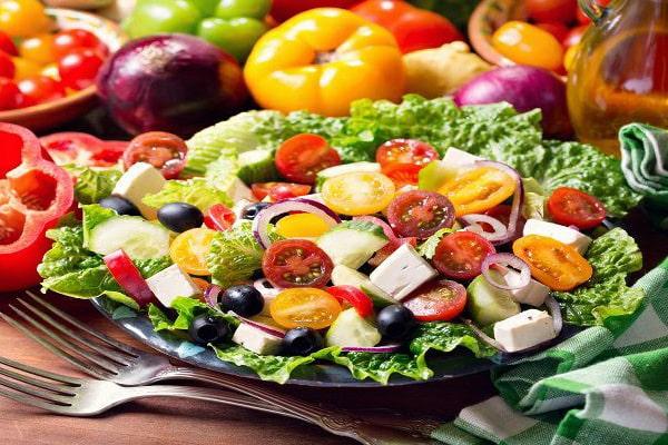 رژیم سبزیجات بخارپز