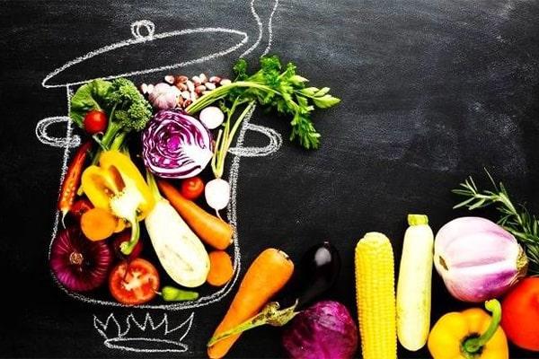 نکاتی در مورد رژیم سبزیجات
