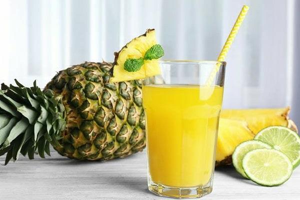 آناناس با دارچین و نوشیدنی لاغری