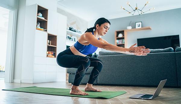 اصول ورزش در خانه بدون تجهیزات