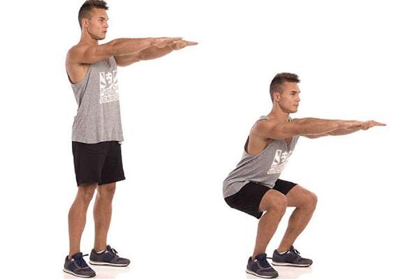 اسکات و افزایش وزن با ورزش