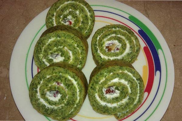 کوکو سبزی از انواع غذا رژیمی