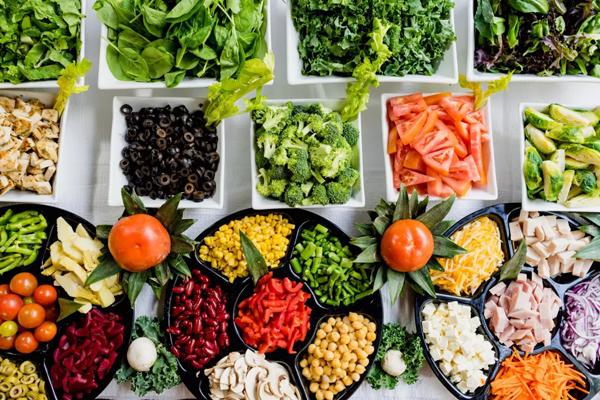 منابع غذایی کم کالری